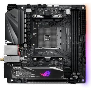 ASUS ROG STRIX X470-I GAMING Socket AM4 AMD X470 DDR4 Mini ITX Motherboard (90MB0XE0-M0EAY0)