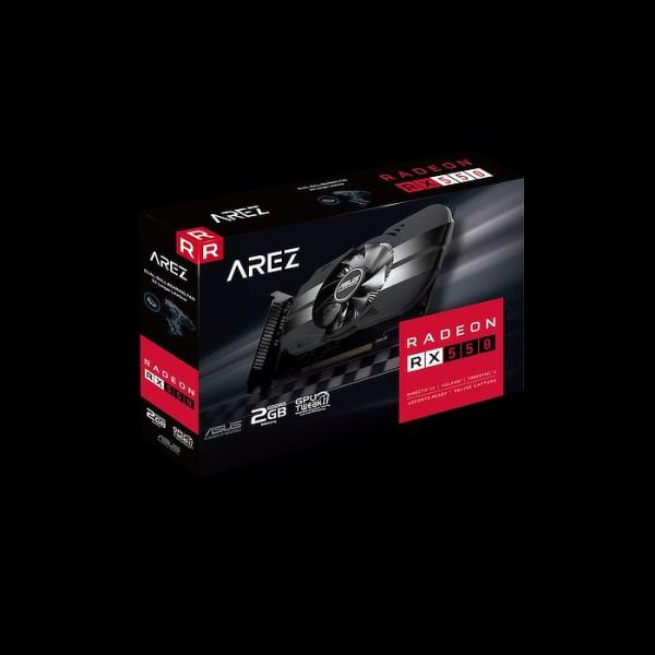 ASUS Radeon RX 550 Arez 2GB GDDR5 Graphics Card (90YV0AG6-M0NA00)