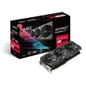 ASUS Radeon RX 580 Arez Strix Gaming OC 8GB GDDR5 Graphics Card (90YV0AK5-M0NA00)