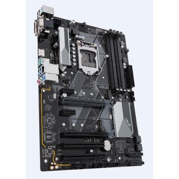 ASUS PRIME H370-PLUS/CSM LGA 1151 Intel H370 DDR4 ATX Motherboard (90MB0WA0-M0EAYC)