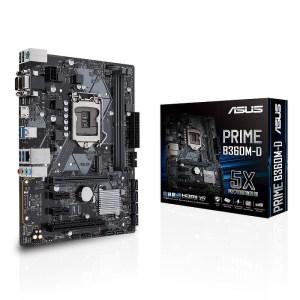 ASUS Prime B360M-D LGA 1151 Intel B360 DDR4 Micro ATX Motherboard (90MB0XP0-M0EAY0)