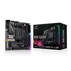 ASUS ROG STRIX B450-I GAMING Socket AM4 AMD B450 DDR4 Mini ITX Motherboard (90MB0Z50-M0EAY0)