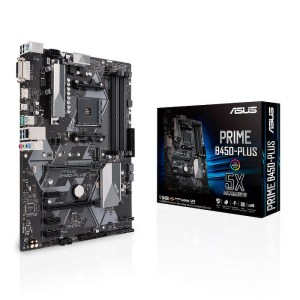ASUS PRIME B450-PLUS Socket AM4 AMD B450 DDR4 ATX Motherboard (90MB0YN0-M0EAY0)
