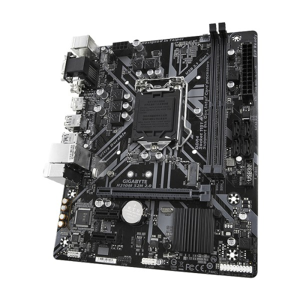 Gigabyte H310M S2H 2.0 LGA 1151 Intel H310 Express DDR4 Micro ATX Motherboard (H310M S2H 2.0)