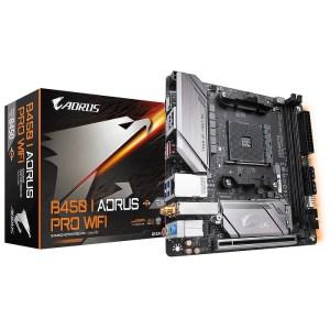 Gigabyte B450 I AORUS PRO WIFI Socket AM4 AMD B450 DDR4 Mini ATX Motherboard (B450 I AORUS PRO WIFI)