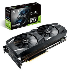 ASUS GeForce RTX 2080 DUAL Advanced 8GB GDDR6 Graphics Card (DUAL-RTX2080-A8G)