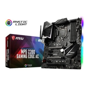 MSI MPG Z390 GAMING EDGE AC LGA 1151 Intel Z390 DDR4 ATX Motherboard (MPG Z390 GAMING EDGE AC)