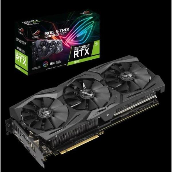 ASUS GeForce RTX 2070 DUAL OC 8GB GDDR6 Graphics Card (90YV0C92-M0NA00)