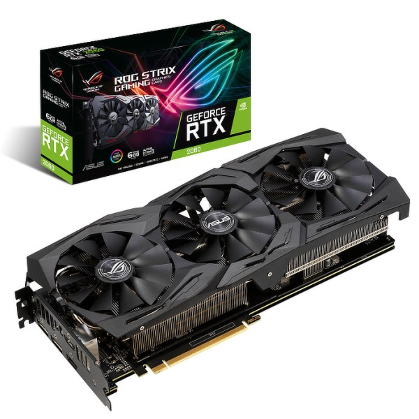 ASUS GeForce RTX 2060 ROG Strix Gaming 6 GB GDDR6 Graphics Card (90YV0CI2-M0NA00)