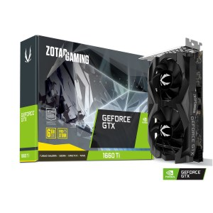Zotac GeForce GTX 1660 Ti 6 GB GDDR6 Graphics Card (ZT-T16610F-10L)