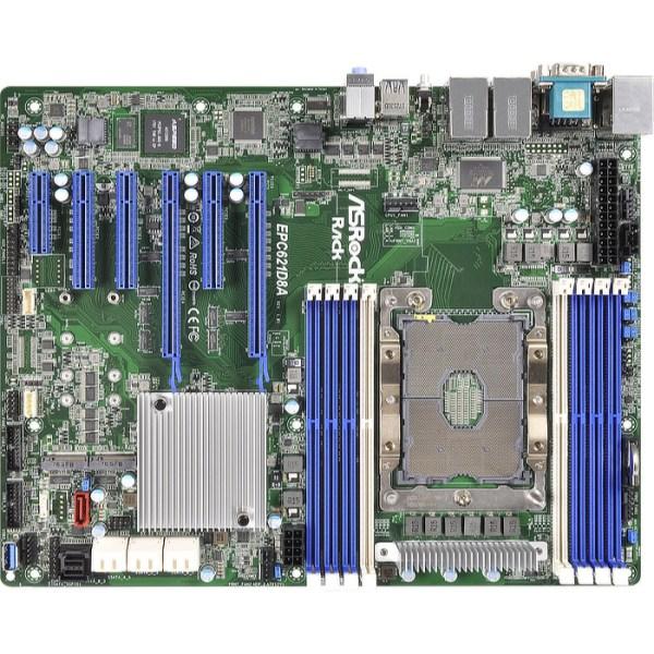 ASRock EPC621D8A LGA 3647 Intel C621 DDR4 ATX Motherboard (EPC621D8A)