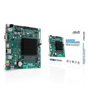 ASUS PRIME N4000T Integrated CPU Intel N4000T DDR4 Mini ITX Motherboard (PRIME N4000T)