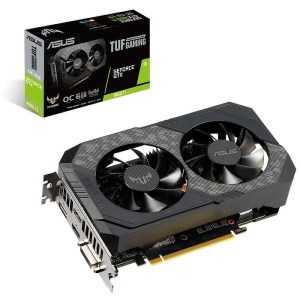 ASUS GeForce GTX 1660 Ti TUF Gaming OC 6 GB GDDR6 Graphics Card (TUF-GTX1660TI-O6G-GAMING)