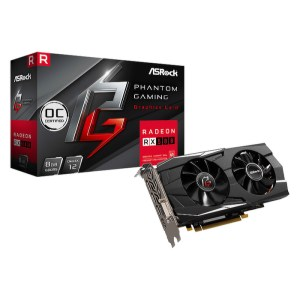 ASRock Radeon RX 580 Phantom Gaming D 8 GB GDDR5 Graphics Card (90-GA0M10-00UANF)