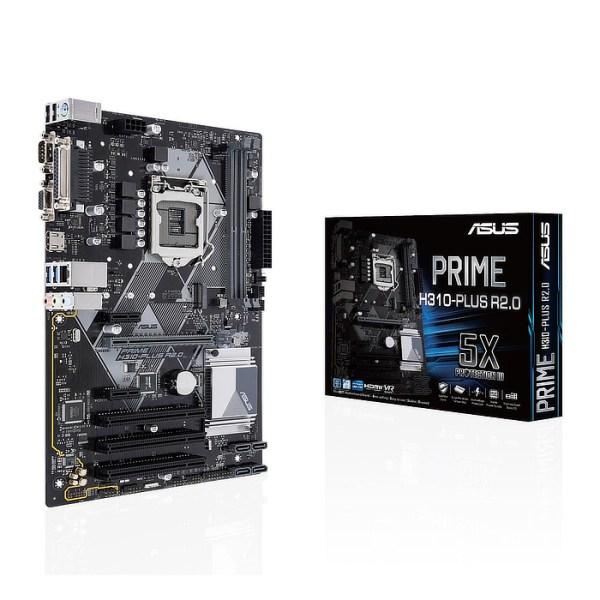 ASUS H310-PLUS R2.0 LGA 1151 Intel H310 DDR4 ATX Motherboard (90MB0ZV0-M0EAY0)