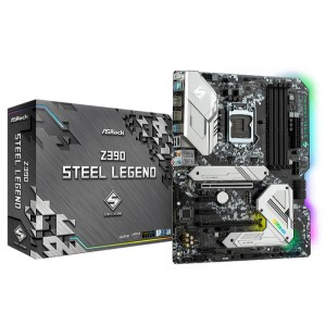 ASRock Z390 Steel Legend LGA 1151 Intel Z390 DDR4 ATX Motherboard (Z390 STEEL LEGEND)