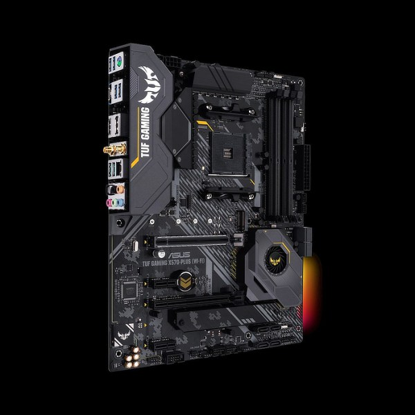 ASUS TUF Gaming X570-Plus (WI-FI) Socket AM4 AMD X570 DDR4 ATX Motherboard (TUF Gaming X570-Plus (WI-FI))