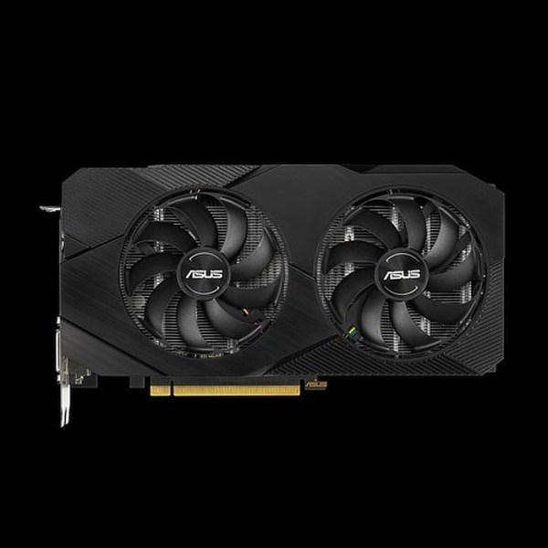 ASUS GeForce GTX 1660 DUAL OC EVO 6 GB GDDR5 Graphics Card (DUAL-GTX1660-O6G-EVO)