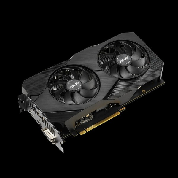 ASUS GeForce GTX 1660 Ti DUAL EVO 6 GB GDDR6 Graphics Card (90YV0CR4-M0NA00)