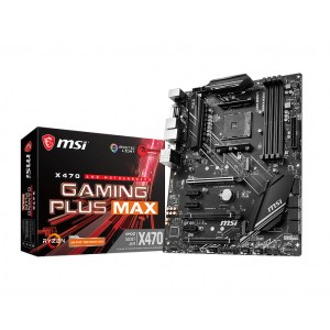MSI X470 Gaming Plus Max Socket AM4 AMD X470 DDR4 ATX Motherboard (X470 GAMING PLUS MAX)