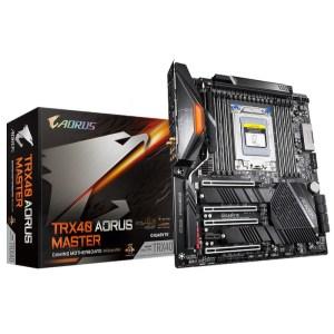 Gigabyte TRX40 AORUS MASTER sTRX4 AMD TRX40 DDR4 Extended ATX Motherboard (TRX40 AORUS MASTER)