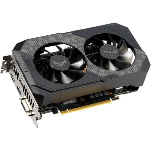ASUS GeForce GTX 1660 SUPER TUF Gaming OC 6 GB GDDR6 Graphics Card (90YV0DT2-M0NA00)
