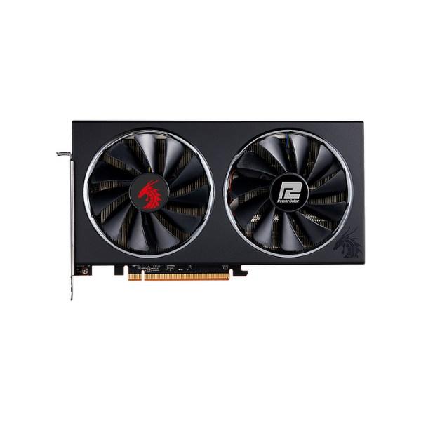 PowerColor Radeon RX 5600 XT Red Dragon 6 GB GDDR6 Graphics Card (AXRX 5600XT 6GBD6-3DHR/OC)