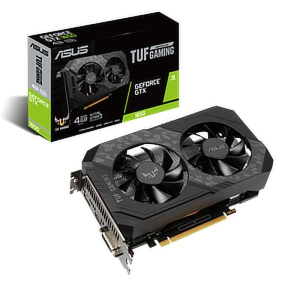 ASUS GeForce GTX 1650 TUF Gaming 4 GB GDDR6 Graphics Card (TUF-GTX1650-4GD6-GAMING)
