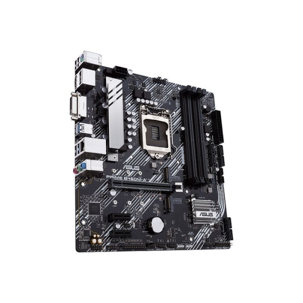ASUS PRIME B460M-A LGA 1200 Intel B460 DDR4 Micro ATX Motherboard (90MB13E0-M0EAY0)