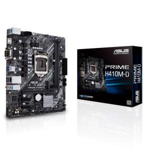 ASUS PRIME H410M-D LGA 1200 Intel H410 DDR4 Micro ATX Motherboard (90MB13U0-M0EAY0)