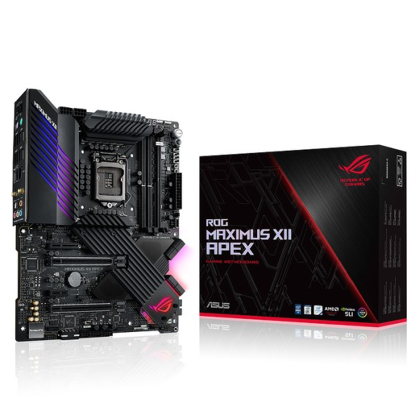ASUS ROG Maximus XII Apex LGA 1200 Intel Z490 DDR4 ATX Motherboard (ROG MAXIMUS XII APEX)