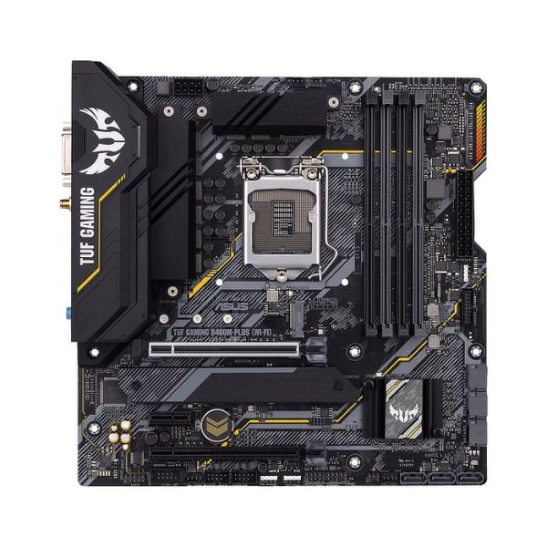 ASUS TUF GAMING B460M-PLUS (WI-FI) LGA 1200 Intel B460 DDR4 Micro ATX Motherboard (90MB1440-M0EAY0)