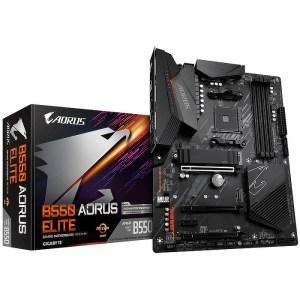 Gigabyte B550 AORUS ELITE Socket AM4 AMD B550 DDR4 ATX Motherboard (B550 AORUS ELITE)