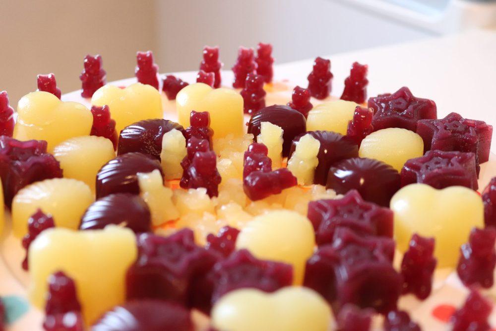 Zuckerfreie Gummibärchen selber machen