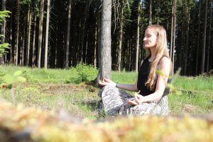 Meditation nach Sport