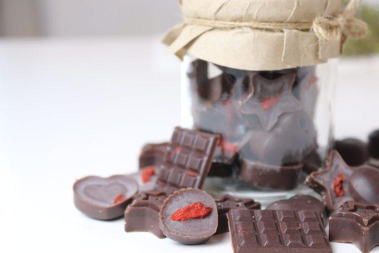 Schokolade Weihnachtsgeschenk