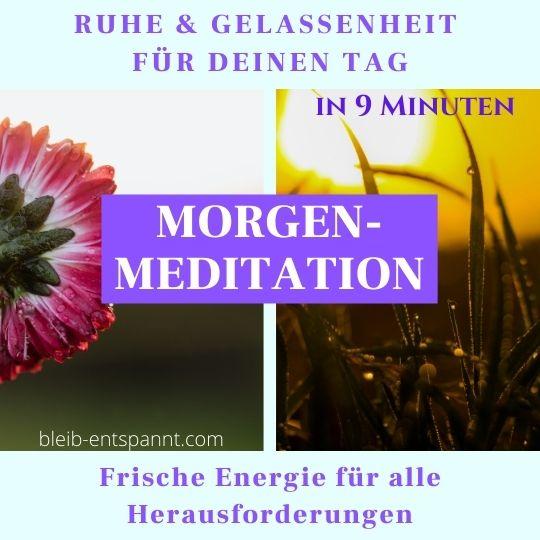 meditation morgens