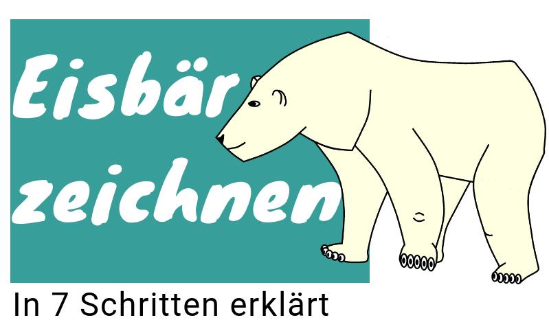 Eisbär zeichnen