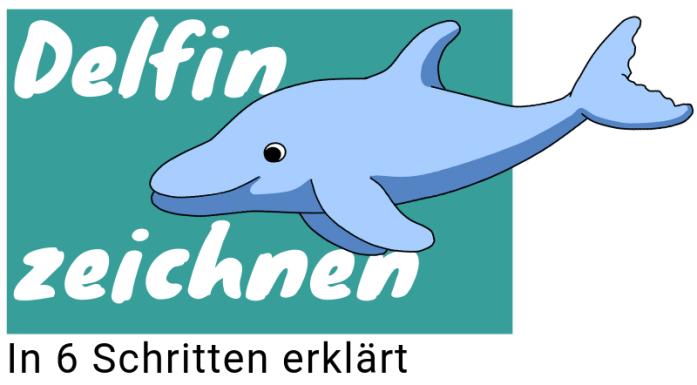 Delfin zeichnen