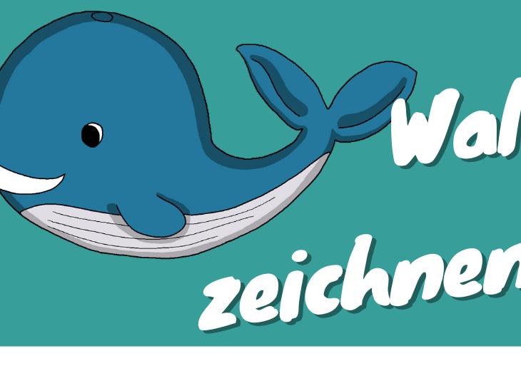 einfachen Wal zeichnen cover