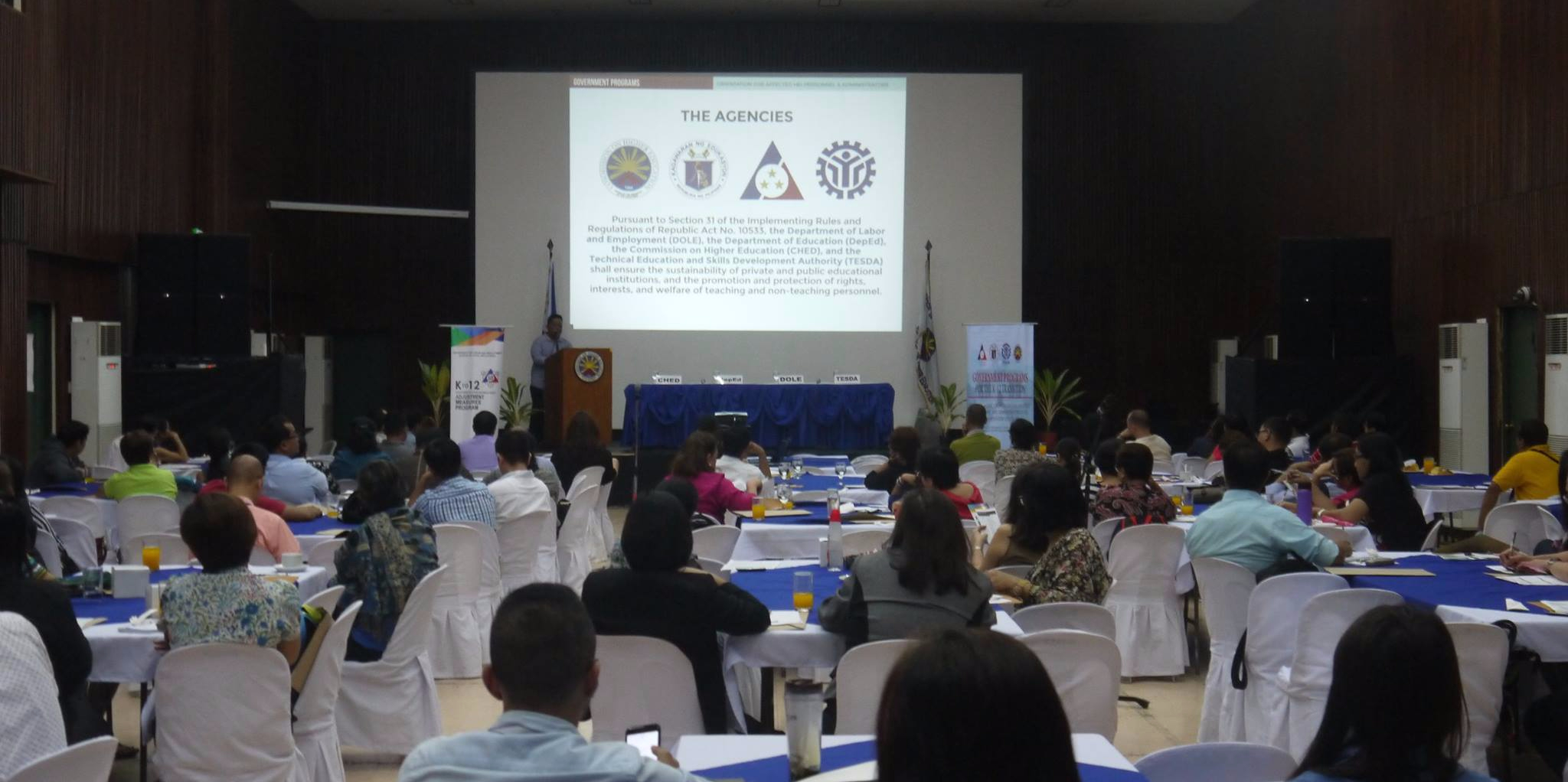 NCR Inter-Agency Roadshow on K to 12 Mitigation Programs