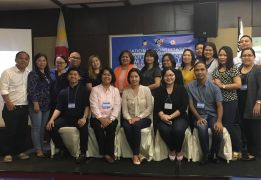 TSSD Chiefs, IMSD Chiefs and K to 12 DOLE AMP Regional Focal Personsof the DOLE Regional Offices in Mindanao with the Bureau and Local Employment representatives and Dir. Dominique Rubia-Tutay