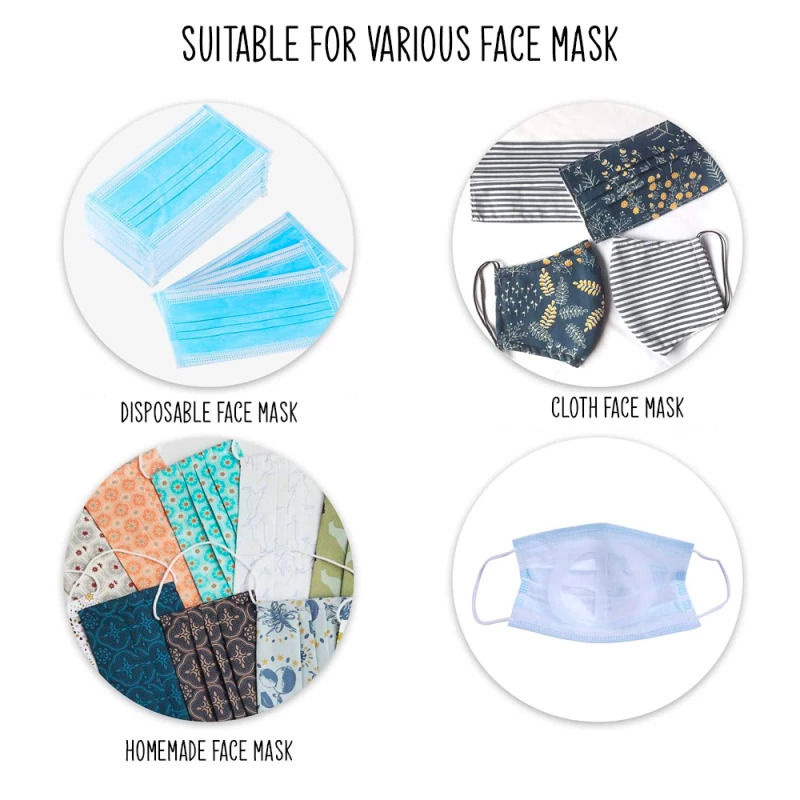3D Silicone Face Mask Bracket5