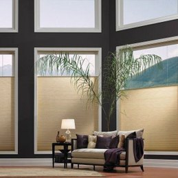Honeycomb Shades from Blended Blinds Custom Home Window Coverings