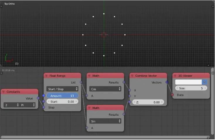 Animation Nodes - Example 1