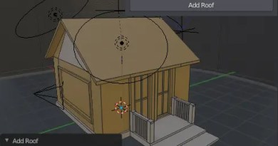 Building Tools addon for Blender 2.8