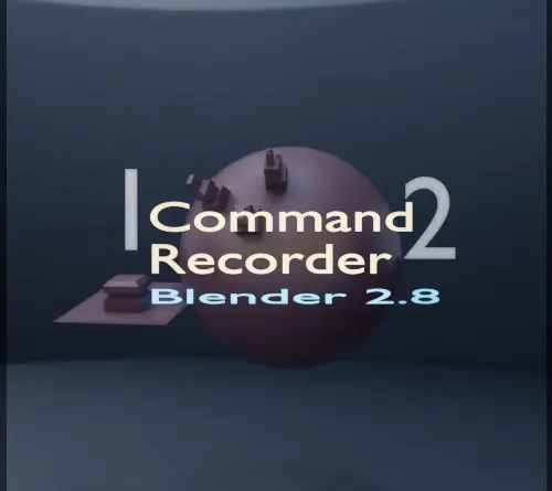 Command Recorder - Blender 2.8