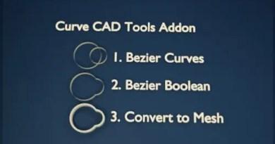 Curve CAD Tools addon