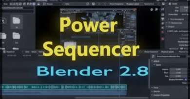 Power Sequencer addon for Blender 2.8