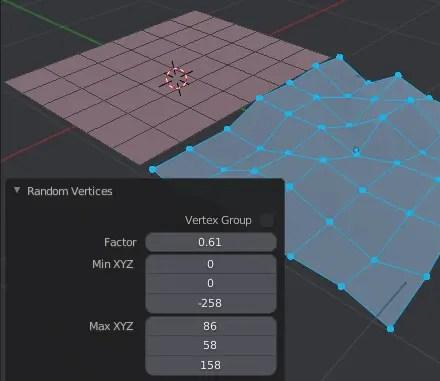 Random Vertices